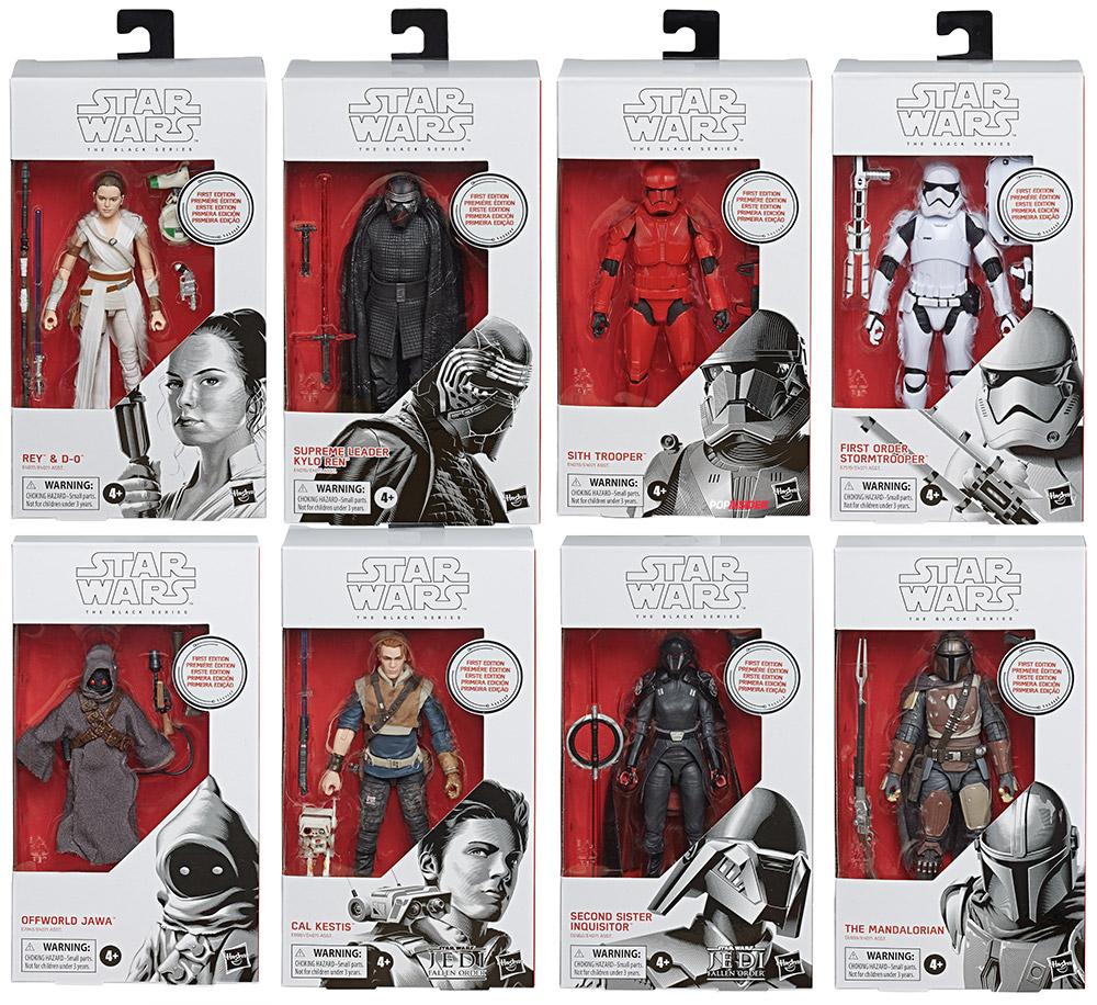 STAR Wars il Nero Serie primo ordine JET Trooper-L/' ascesa di Skywalker