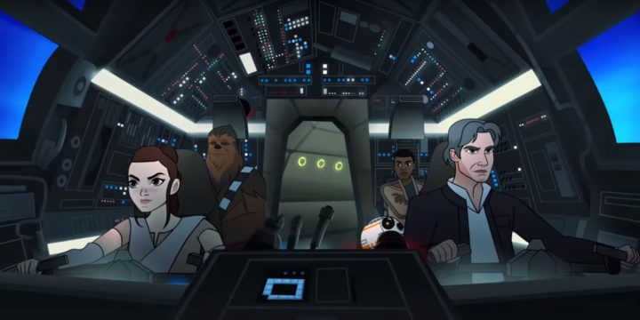 Star Wars: Forces of Destiny – Tracker Trouble