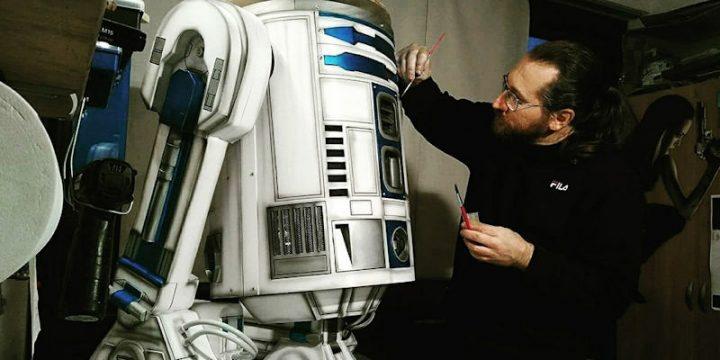 Dany Bao props maker crea R2-D2