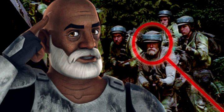 """Il Capitano Rex non è ne """"Il Ritorno dello Jedi""""!"""