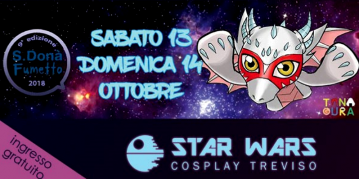 Star Wars Cosplay Treviso a San Donà Fumetto
