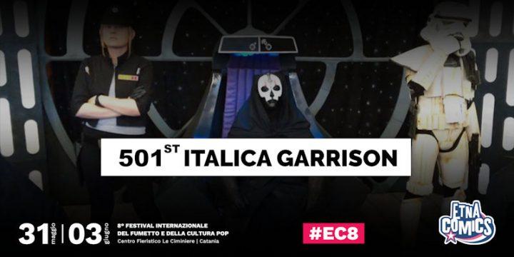 La 501st Italica Garrison a Etna Comics