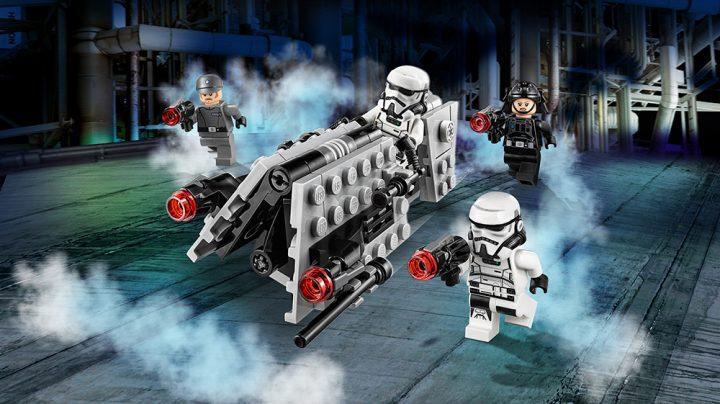 Recensione Lego Star Wars BattlePack Pattuglia imperiale 75207