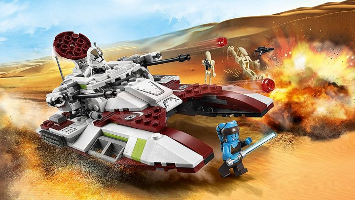 Recensione Lego 75182 Republic Fighter Tank