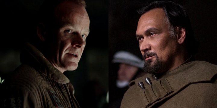 Bail Organa e il generale Draven nella serie su Cassian Andor