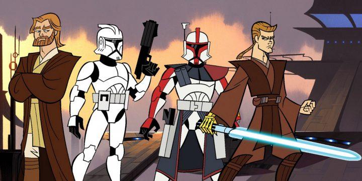 Personaggi di Clone Wars
