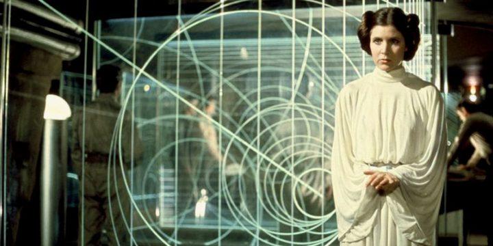La giovane dottoressa Leia