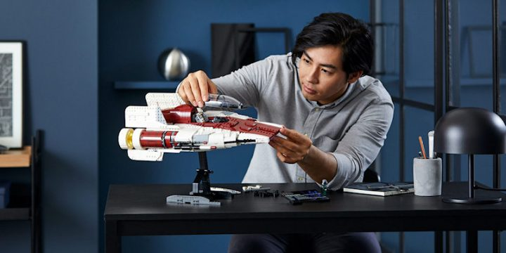 A-wing by Lego Star Wars Ultimate Collector Series