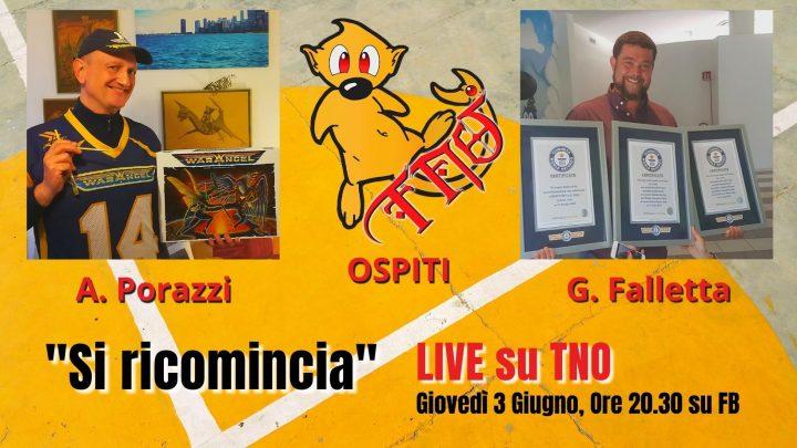 """La tana del Nerd Live """"Si Ricomincia"""""""
