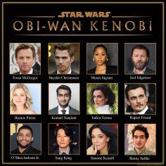 Obi-Wan Kenobi, condiviso il cast e inizio riprese