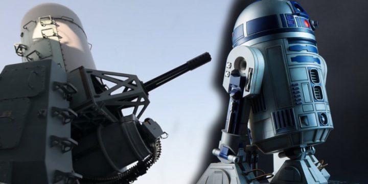 R2-D2 sulle navi della marina americana