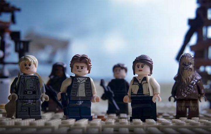 Il trailer di SOLO, ma fatto con i LEGO!