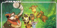 La serie animata degli Ewoks