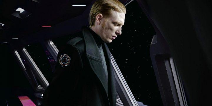 Domhnall Gleeson parla del soffocamento di Darth Vader