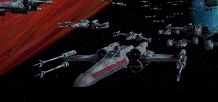 """Veicoli stellari da Star Wars  """"T-65 X-Wing"""""""