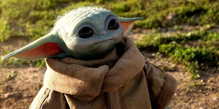 Baby Yoda a grandezza naturale