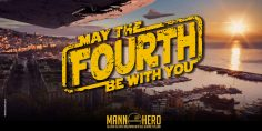May the fourth be with you! Napoli e Caserta 4-6 Maggio 2018