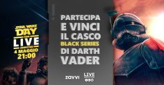 Star Wars Day: partecipa e vinci il casco black series di Darth Vader