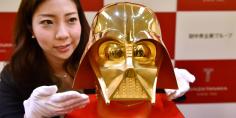 Un Darth Vader tutto d'oro