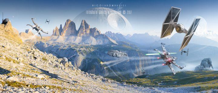 Monte Piana e le Tre Cime in Solo: a Star Wars Story