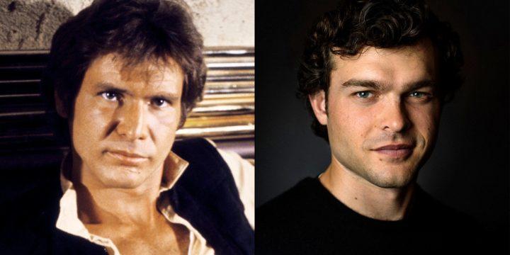 Harrison Ford dispensa consigli al giovane Han Solo