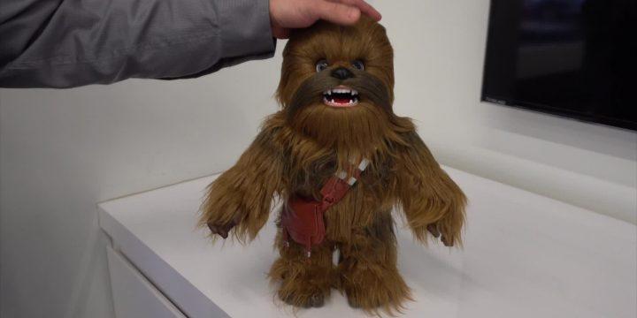 #ToyFair2018: presentato Chewbacca interattivo!!!