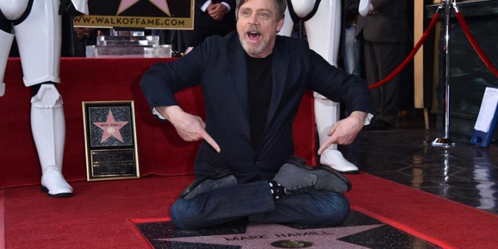 Mark Hamill sulla Hollywood Walk of Fame