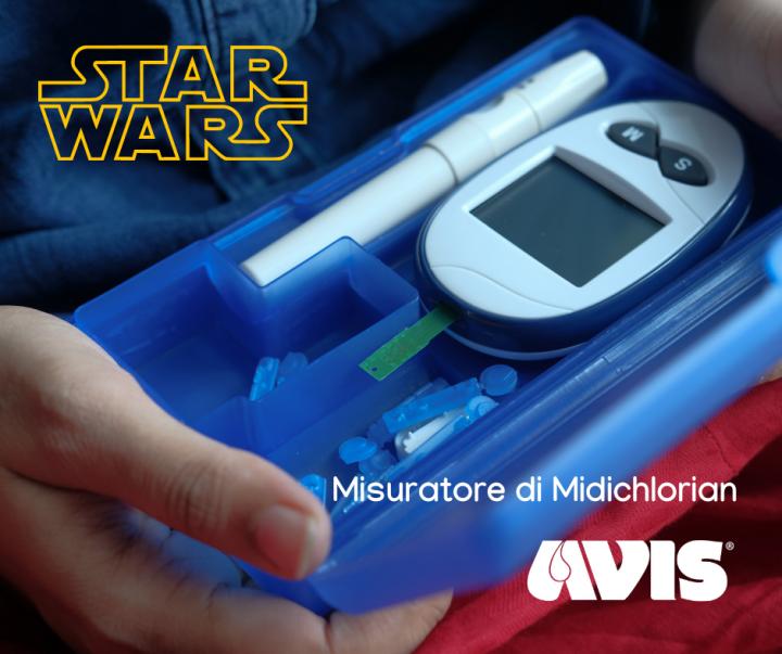 Il misuratore di Midi-chlorian promosso da AVIS
