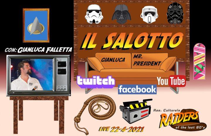 Gianluca Falletta @ Salotto dei Raider