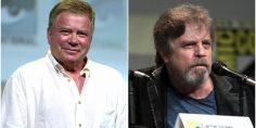 Siparietto social tra Shatner e Hamill