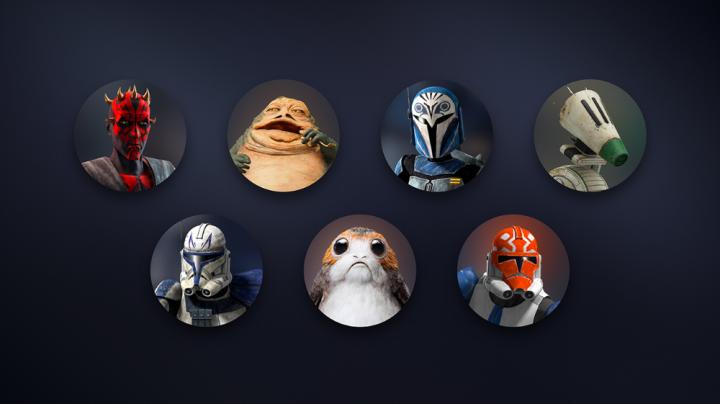 Disney+: 7 Nuovi avatar per lo Star Wars Day