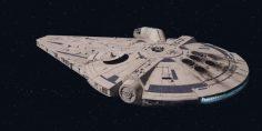 Perché il Millennium Falcon in Solo è diverso?