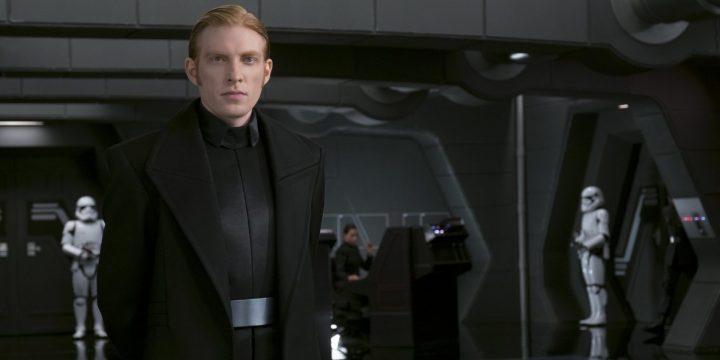 Domhnall Gleeson appoggia i momenti comici di Star Wars TLJ