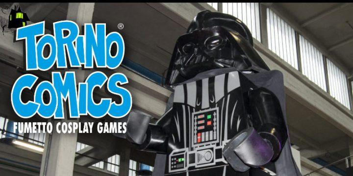 Darth Vader Lego trionfa a Torino Comis