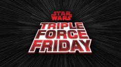 Triple Force Friday: Tutto il nuovo Merchandise in arrivo