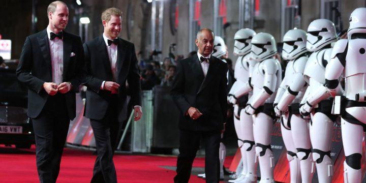 Cameo delle Altezze reali William e Harry tagliato perché troppo alti